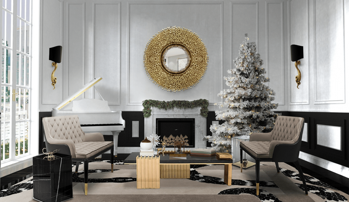 Christmas Glamour At Your Interior Design