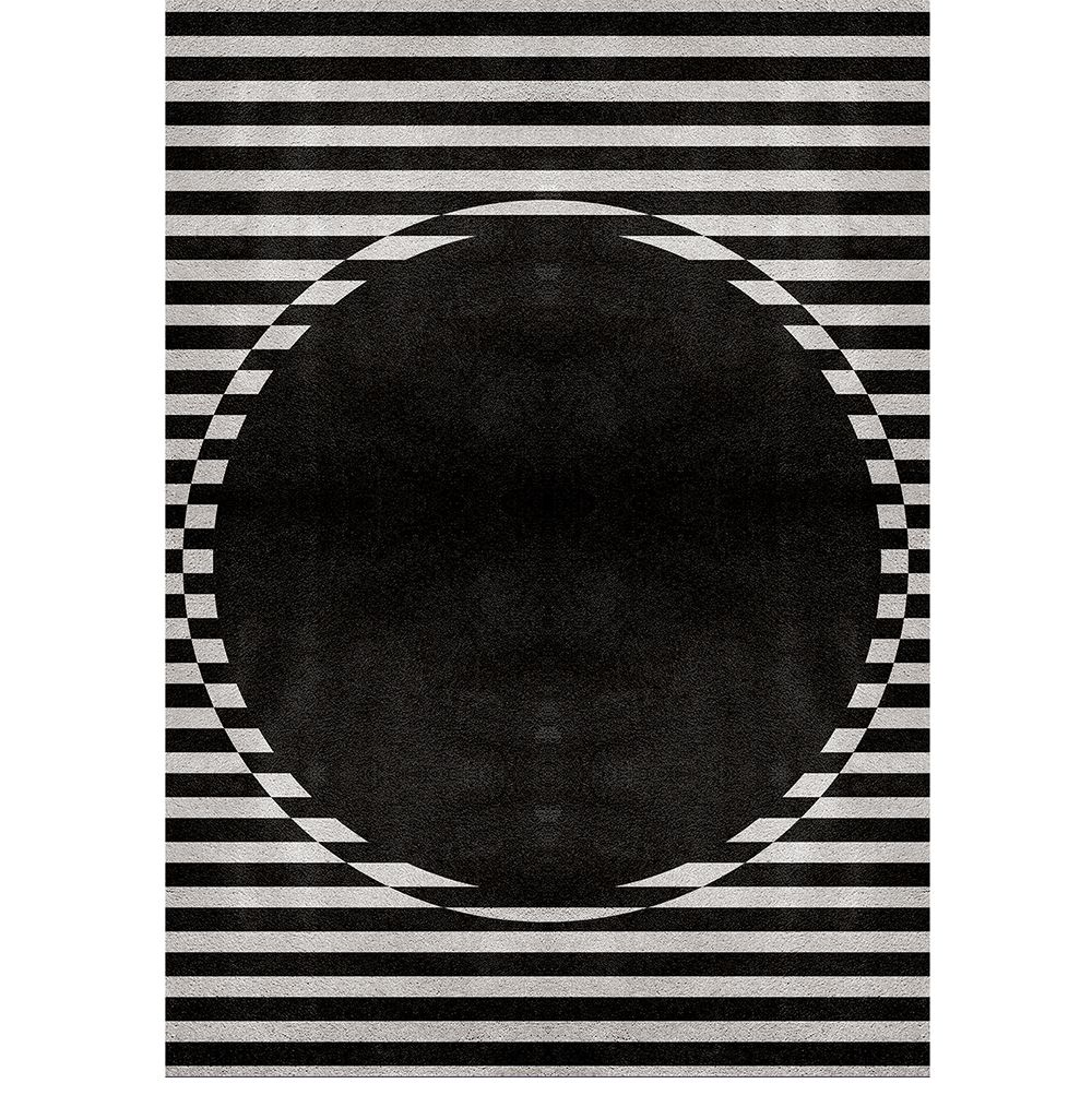 5 Black Rugs To A Glamour Design
