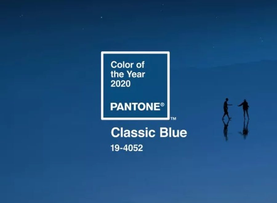 Pantone's Colour of the Year: Classic Blue