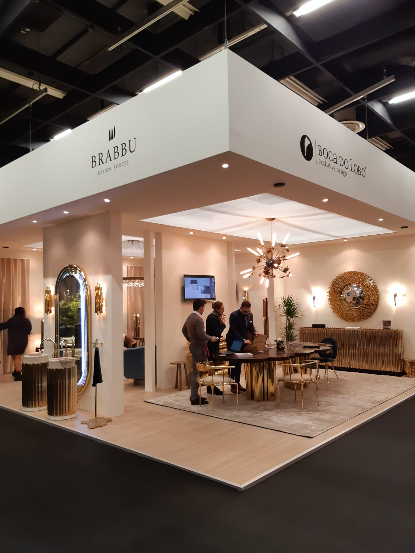 imm Cologne 2020: Take a Look at BRABBU's Stand